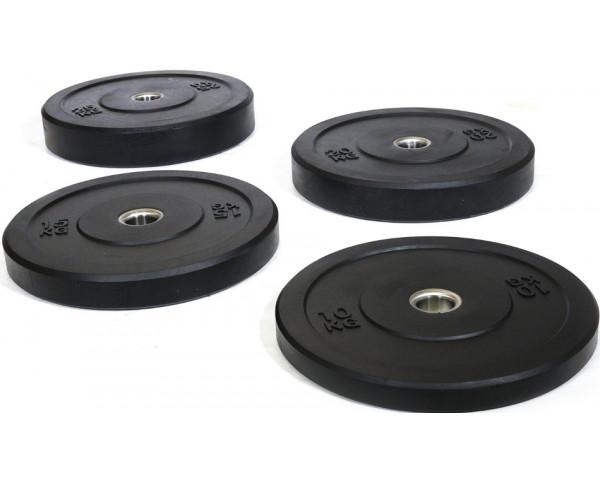 Flex Bumper Gumi Súlytárcsa Szett 5 kg - 25 kg (5 pár)