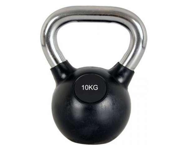 Flex Kettlebell Gumibevonatú - 6 kg