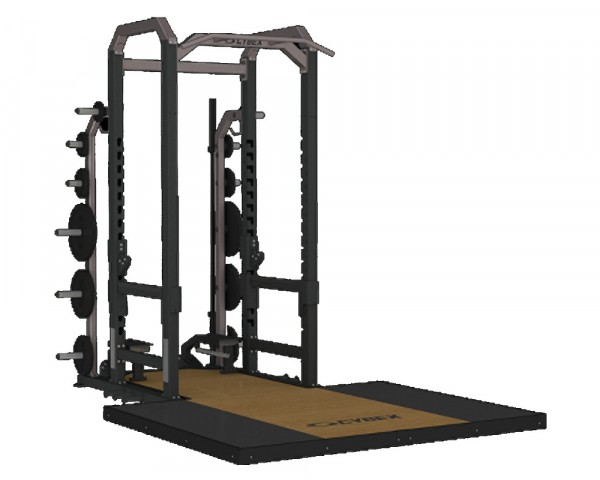 Cybex Big Iron 9' Power Rack erőkeret