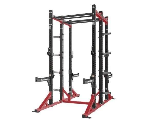 Hammer Strength Athletic Half / Half Combo Rack – fél erőkeret / fél kombinált erőkeret