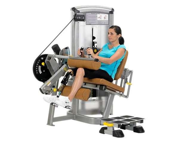 Cybex VR3 Seated Leg Curl Total Access - ülő lábhajlítógép (kerekesszékes)