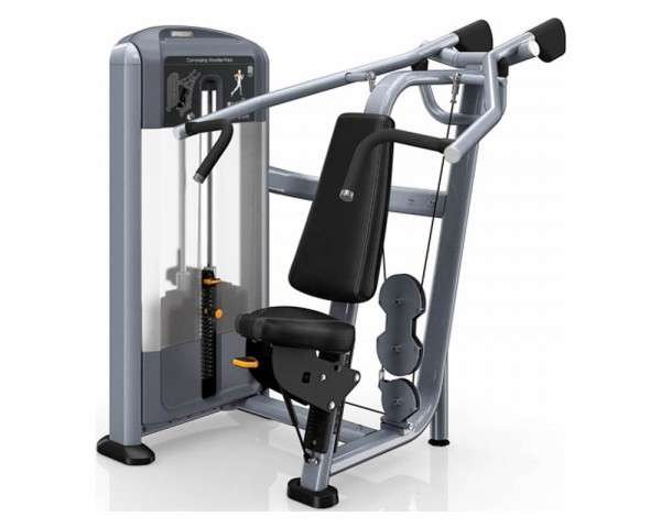 Precor Converging Shoulder Press Discovery Series - vállgép, összetartó mozgás