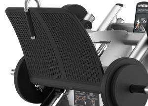 45 fokos lábtoló gép  – Ívelt lábtartó