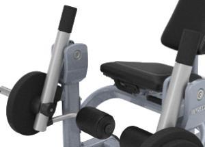 Ülő lábnyújtógép – Független mozgás