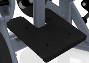 Ülő melltámaszos evezőgép – Megfelelő stabilitás