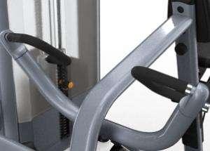 Széttartó mozgású evezőgép – Csúszásmentes láblemez