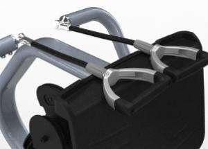 Széttartó mozgású lehúzó hátgép - Forgós fogantyúk