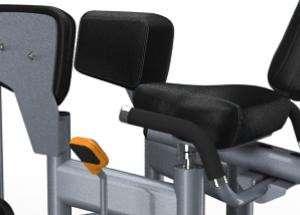 Lapsúlyos lábközelítő gép – Racsnis ülés