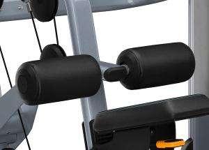 Lapsúlyos lehúzó hátgép - Stabilizáló görgőpárnák