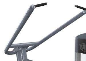 Lapsúlyos lehúzó hátgép  - Széles mozgókarok