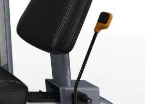 Lapsúlyos lábnyújtógép - Egyszerű hátlap beállítás