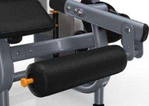 Lapsúlyos fekvő lábhajlítógép – Állítható bokagörgős párnák