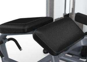 Lapsúlyos fekvő lábhajlítógép – Ergonomikus tervezés