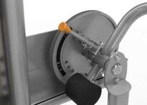 Abdominal / Back Extension - hasgép / mélyhátgép állítható kezdőhelyzet