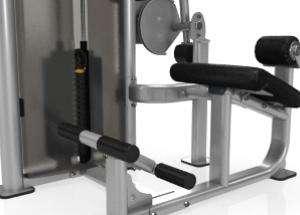 Back Extension - lapsúlyos mélyhátgép emelt lábtartó