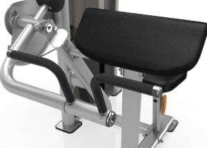 Bicep Curl - lapsúlyos bicepszgép optimális dizájn