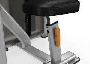 Bicep Curl - lapsúlyos bicepszgép hátsó egyszerű beállítás
