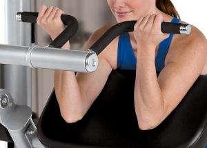 Bicep Curl - lapsúlyos bicepszgép hátsó kar kialakítás