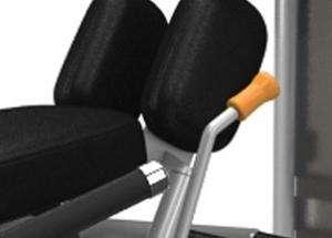 Inner / Outer Thigh - lábközelítő / lábtávolító gép állítható egy gép két gyakorlat