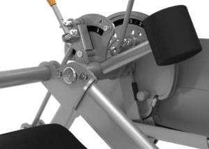 Leg Extension / Leg Curl - lábnyújtó / lábhajlító gép ellensúly