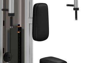 Precor Rear Delt / Pec Fly - mell tárogatás / hátsó delta hátlap