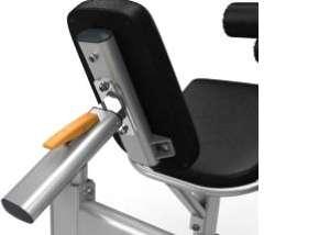 Seated Leg Curl - lapsúlyos ülő lábhajlító gép alsó állítható hátlap